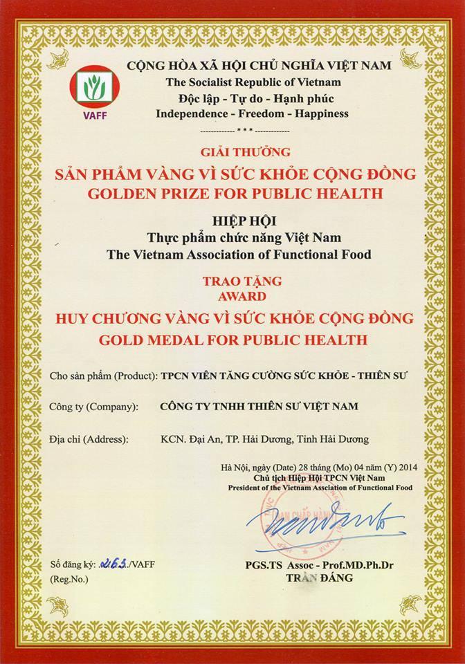 Viên tăng cường sức khỏe thiên sư cải thiện sức khỏe cao cấp