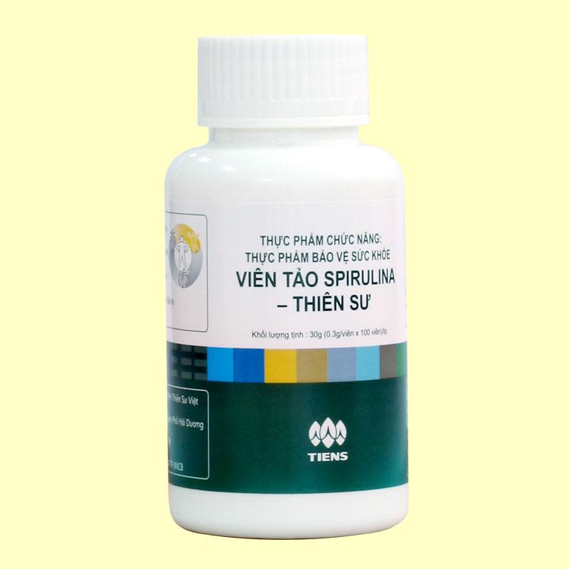 Viên tảo Spirulina Thiên Sư sản phẩm vì sức khỏe