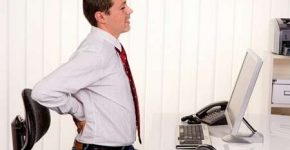 Giảm đau lưng hiệu quả cho dân văn phòng