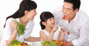 Ăn uống để cải thiện sức khỏe khỏe mạnh